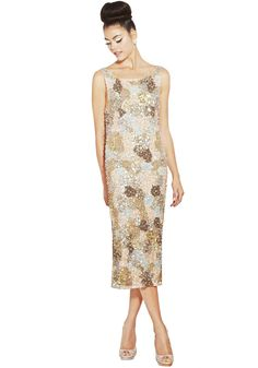 DEMI EMBELLISHED FITTED DRESS | Alice + Olivia |