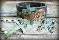 Love the Cross...handmade by Kerri Smith....