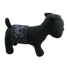 Alfie Couture Designer Pet Accessory - Rox Denim Belly Band (for Boy Dogs) -- Continue to the product at the image link.