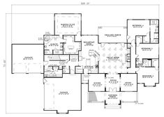 Country Southern Traditional House Plan 62383