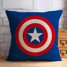 Captain america pillow