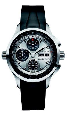 Hamilton Khaki X-Patrol with silver dial, rubber strap