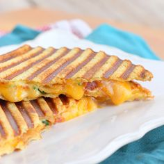 Loaded Baked Potato Grilled Cheese Sandwich.