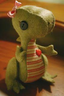 Cutest dinosaur ever!
