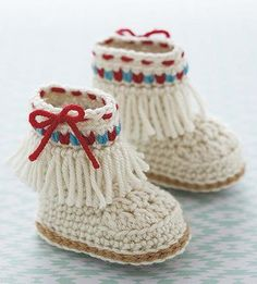 Kick up some cuteness with crochet booties that are packed with modern details. Baby girls and boy will be fashion stars in these slippers, boots, and other styles of footwear.   Click here to order your copy of this book: http://www.maggiescrochet.com/products/modern-baby-booties