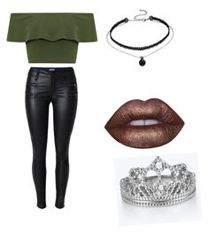 """""""bdkd"""" by oliviasjstad on Polyvore featuring WearAll and Lime Crime"""