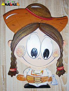 anjelicek / Chlapec v kroji - na zavesenie Snoopy, Fictional Characters, Art, Art Background, Kunst, Fantasy Characters, Art Education