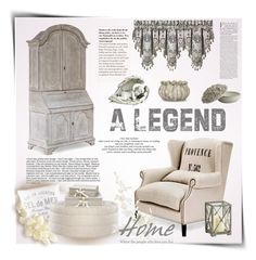 """""""A legend"""" by anna-survillo ❤ liked on Polyvore featuring interior, interiors, interior design, home, home decor, interior decorating, Alexander McQueen, J. Queen New York, H&M and Curations Limited"""