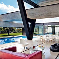 Casa Hemeroscopium by Studio Ensamble architects, Madrid - Marie Claire Maison Madrid, Architectural Elements, Living Area, Facade, Architecture Design, House Design, Dream Houses, Marie Claire, Building
