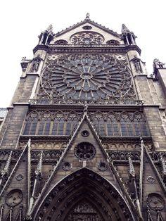 Catedral de Notre Dame, Rosetón Norte (Paris - France)