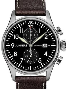 Mens Watches JUNKERS Cockpit JU52 6178-2 Junkers. $415.00