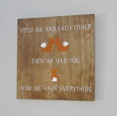 These beautiful maple wood signs add a touch of class to any home.  Each unique rustic square wood sign measures 12 inches in height. It is roughly .75