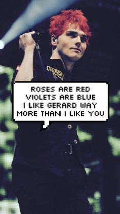 Gerard Way Lockscreens