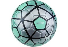 Nike Pitch Soccer Ball - Green Glow & Silver | SoccerMaster.com