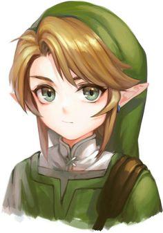 Link - The legend of Zelda The Legend Of Zelda, Legend Of Zelda Memes, Legend Of Zelda Breath, Zelda Breath Of Wild, Breath Of The Wild, Ben Drowned, Zelda Drawing, Zelda Anime, Copic Drawings