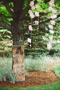 Backyard Rustic Wedding