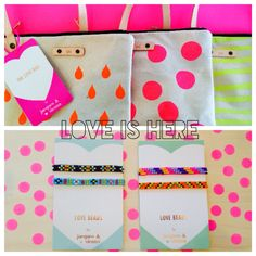 Love is here! - announcing @JacquesSienna Accessories for Children #Thelovebag #lovebeads #retro #fluro #jointhecraze