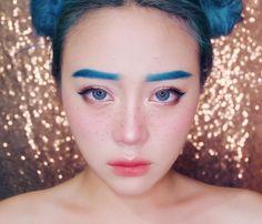 #Korean Make Up Look #Ulzzang @janineintansari