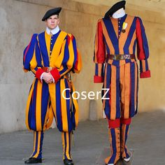 newest halloween Carnival costume for adult men and women unisex soldiers cosplay costume papal swiss guard uniform costume Unique Toddler Halloween Costumes, Holiday Costumes, Costumes For Sale, Adult Costumes, Halloween Carnival, Carnival Masks, Carnival Costumes, Cosplay Wigs, Cosplay Costumes