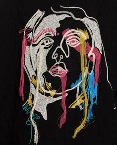 EMBROIDERED JACQUARD SWEATSHIRT WITH THREAD DETAIL-SWEATSHIRTS-WOMAN | ZARA United States