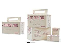 Diseñados como una forma interactiva para probar variedad de vinos by Natasha Shubaly