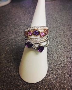 Birthstone if the month: Amethyst! Any February birthdays out there?! What about something beautiful and personal for a special someone?  We have a stunning range of Amethyst pieces from pendants to rings! You could even get something designed bespoke! #platinum #diamond #emerald #sapphire #ruby #handmade #jewellery #diamondjewellery #gold #berkhamsted #hertfordshire #london #watch #luxury #england #engagementring #wedding #weddingring #baileyandsons #raymondweil #frederiqueconstant #tissot…