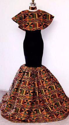 Ankara Clothing/African dresses for women/ African Clothing for women/ Ankara design/Ankara fashion/Ankara party dress/ Ankara wears African Prom Dresses, African Dresses For Women, African Attire, African Wear, African Fashion Dresses, African Women, Ankara Fashion, Nigerian Fashion, Ghanaian Fashion