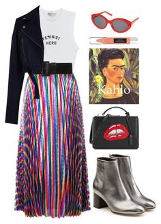 """Sin título #1493"" by meelstyle ❤ liked on Polyvore featuring Wildfox, Gucci, TIBI, rag & bone, Mark Cross, Topshop and Victoria's Secret"