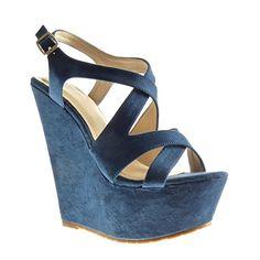 Angkorly Damen Schuhe Sandalen Mule - Plateauschuhe - String Tanga Keilabsatz High Heel 15 cm - Camel 6699-2 T 37 KVaM74YAxM