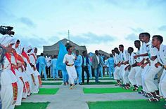 Dhaanto ,a traditional folk dance in Somalia