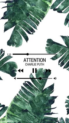 Charlie Puth - Attention   Phone wallpaper