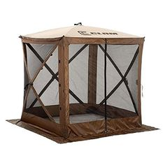 Clam Outdoors Quick Set Escape 6 Sided Screen Shelter In