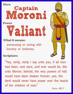 Scripture Heroes: Captain Moroni