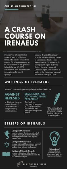 Crash Course on St. Irenaeus from Christian Thinkers 101