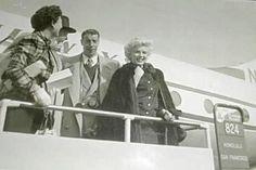 23/02/1954 Départ de Tokyo - Divine Marilyn Monroe