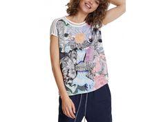Desigual Ts Viena Kolekce Jaro/Léto 2020 Blouse, T Shirt, Women, Fashion, Vienna, Tunic, Supreme T Shirt, Moda, Tee Shirt