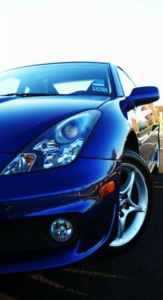 Toyota Celica GT-S in Spectra Blue Mica #toyota #car #blue