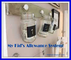 Tales of a Trophy Wife: My Kid's Allowance System