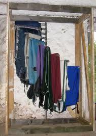horse blanket rack - Google Search