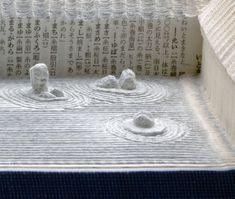 The Carved Book Landscapes of Guy Laramée, Ryoanji, 2011 | Yatzer