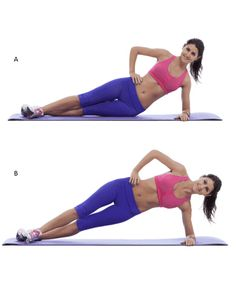 Get Rid Of Love Handles With This 10 Minute Workout Back Toning, Back Fat Workout, Fat Burning Workout, Workout Diet, Plank Workout, Workout Fitness, Workout Challenge, Lower Abdominal Workout, Abdominal Exercises