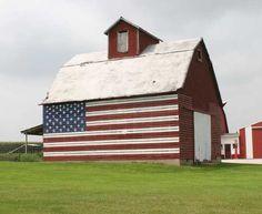 American Flag Barn, Minnesota