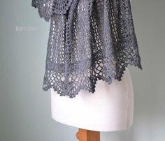 Izumi Crochet shawl pattern pdf
