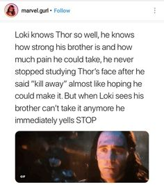 Best brothers ever. #LokiandThor