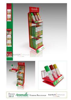 Aromatic - Standing Pack Display
