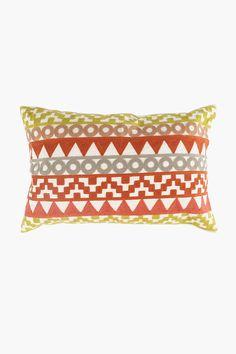 Crewel Embroidered Kumasi Scatter Cushion, 40x60cm - Shop New In - Hom Gift Registry, Home Decor Shops, Scatter Cushions, Modern Design, Recycling, Cover, Fabric, Tejido, Tela