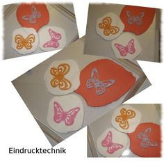 andere Möglichkeit, außer ausstechen, mit JEM Ausstecher Fantasy Butterflies