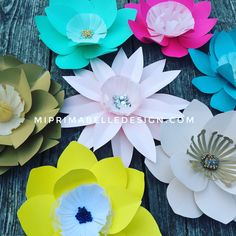 Find these flowers in ETSY today! Miprimabelle paper flowers is also on Facebook and IG. Let's customize your order today!