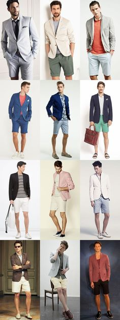 The 2015 Spring/Summer Guide To Shorts: Summer Party Shorts Lookbook Inspiration