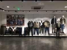 2017 Fall Collection ~ Men's Instore Display